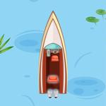 Boat racer game