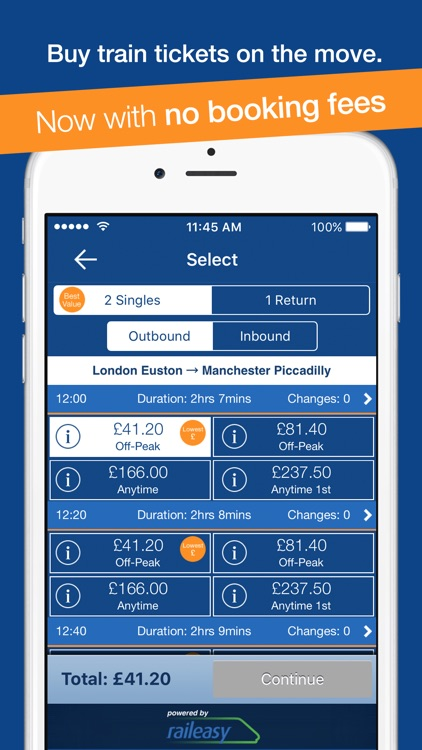 myTrains train times and tickets screenshot-3