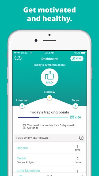 Cara: Food, Mood, Poop Tracker screenshot-3