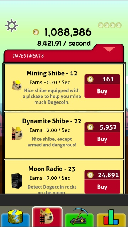 Doge Miner - Doge Coin Clicker screenshot-4