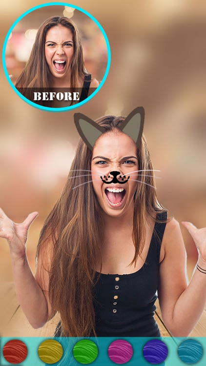 Cat Face Camera Effects & Photo Editor
