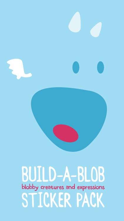 Build-A-Blob Sticker Pack