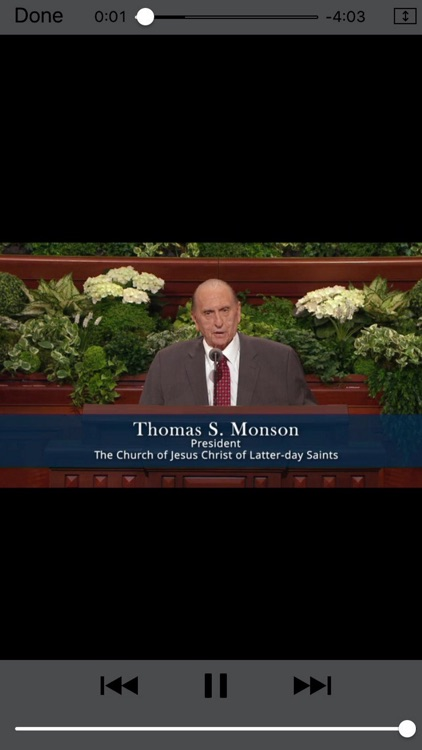 LDS General Conference Talks screenshot-3