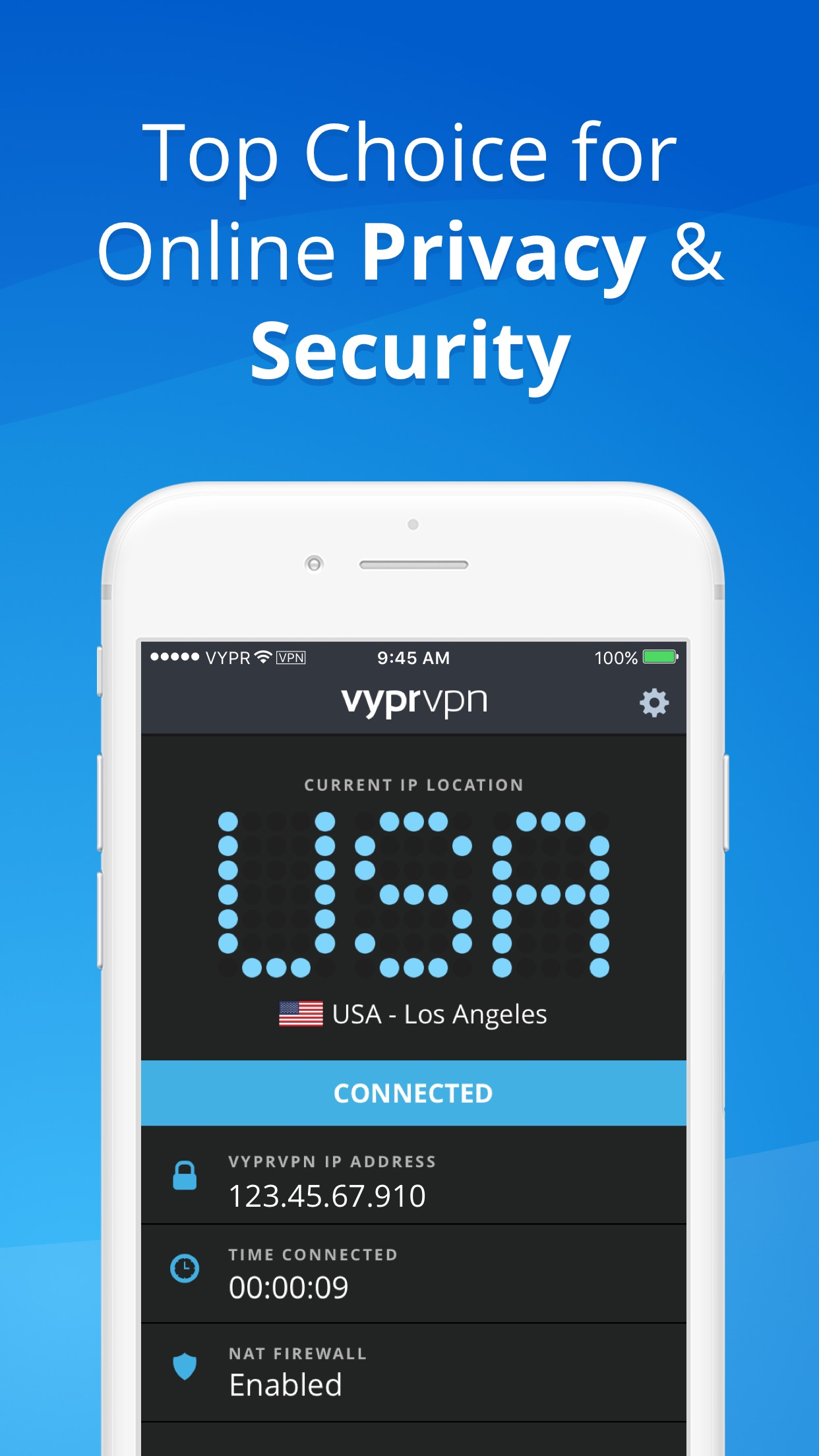 VPN - Fast & Secure VyprVPN Screenshot