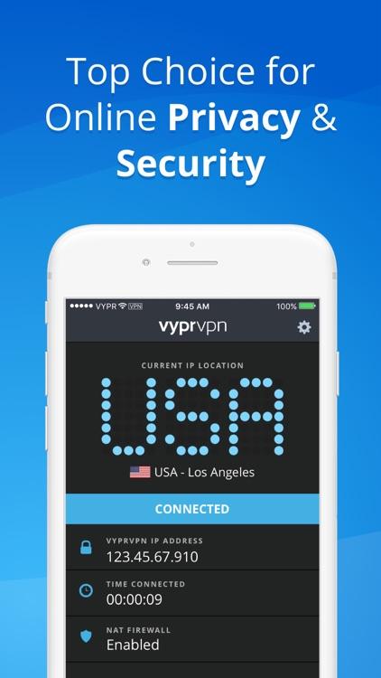 VPN - Fast & Secure VyprVPN screenshot-3