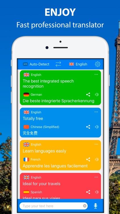 Translate Voice - Translator screenshot-4