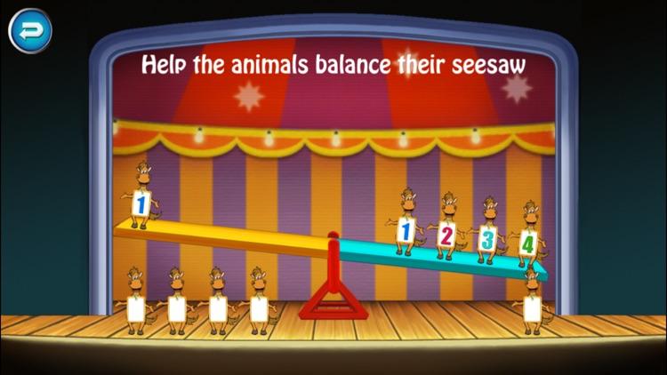 Circus Math School-Toddler kids  learning games screenshot-4