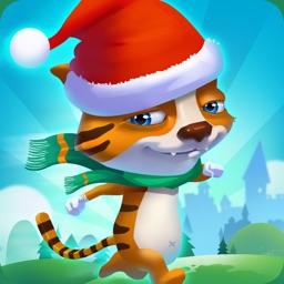 超级跑酷:滑雪猫跑酷大冒险