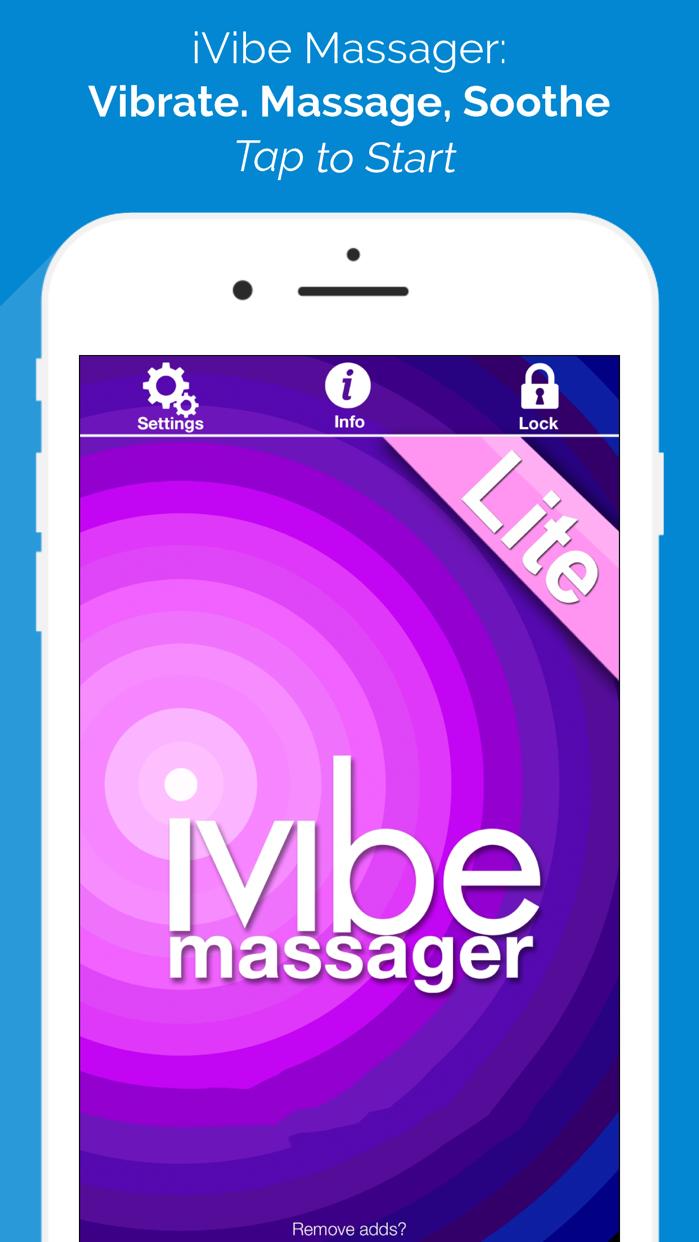 iVibe Vibrating Massager Screenshot