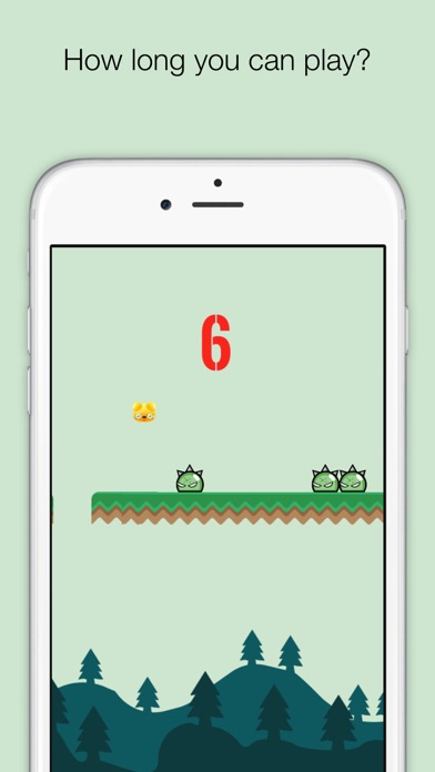 Jelly Bounce - Tap to bounce game screenshot two