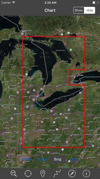 Lakes Huron & Erie – Raster Nautical Charts