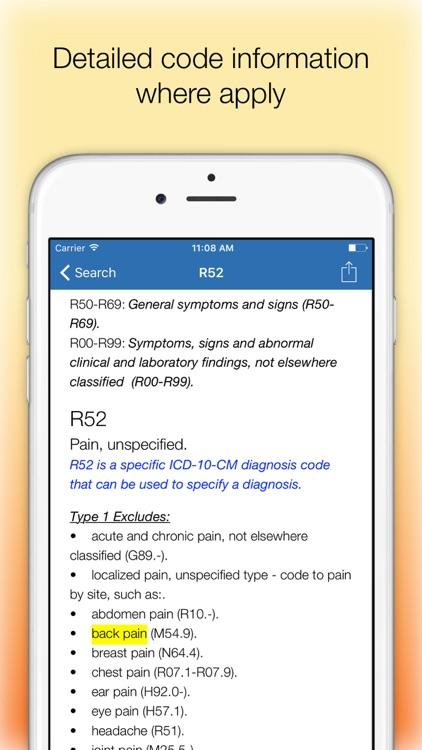 ICD 10 Medical Codes screenshot-4