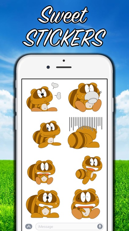 Funny Beaver Stickers! screenshot-0