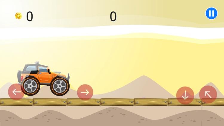 Desert Truck Race