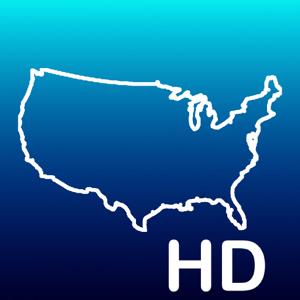 Aqua Map USA HD - GPS Offline Nautical Charts app