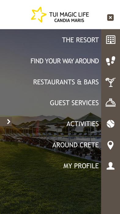 Resort Candia Maris, Crete screenshot one