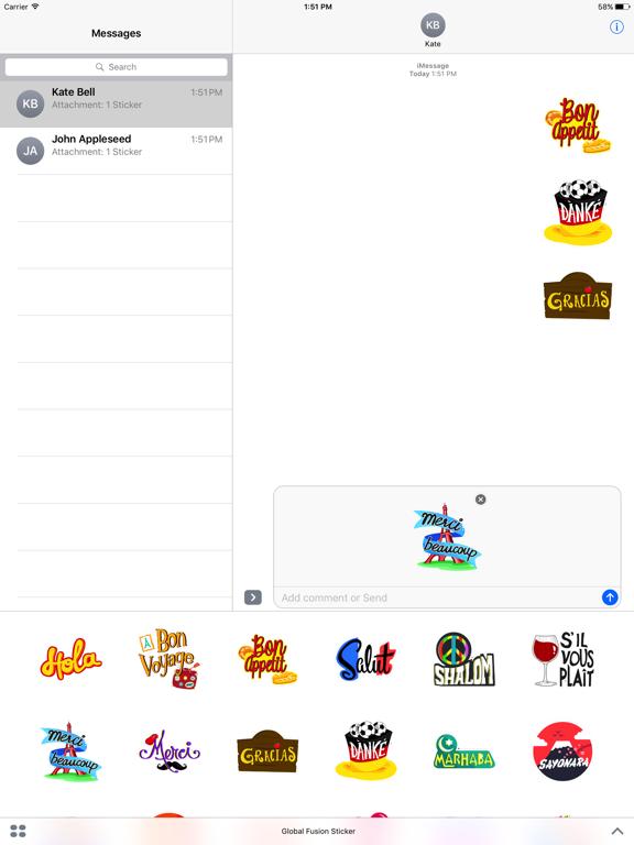 Global Fusion Sticker screenshot 6