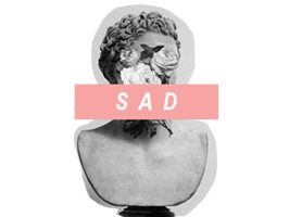 Sad and Aesthetic Stickers