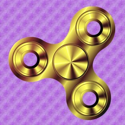 Fidget Spinner: a simple fidget spinner app!
