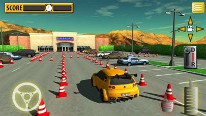 Car Supermarket Parking & Driving Test screenshot two