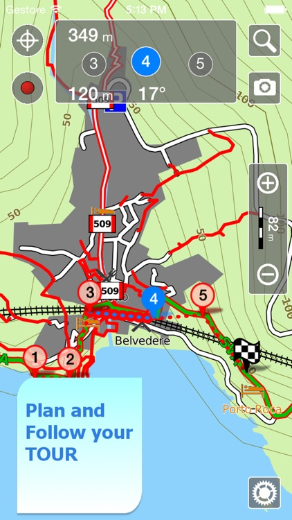 Trails of Cinque Terre - GPS & Maps for Hiking screenshot-4