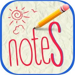 Quick block notes - sketches & organize ideas