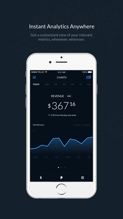 Control - Stripe, PayPal & Square Analytics