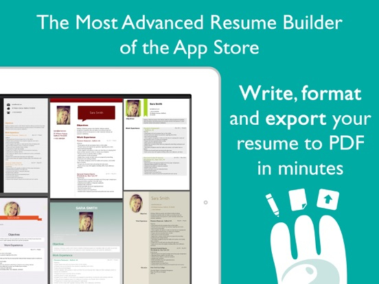 Resume Designer Pro IPA Cracked for iOS Free Download