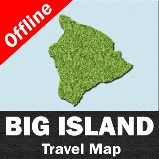 BIG ISLAND (HAWAII) – Travel Map Offline Navigator