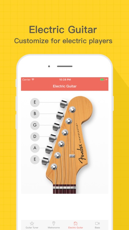 Tuner and Metronome - For Guitar, Bass and Ukulele