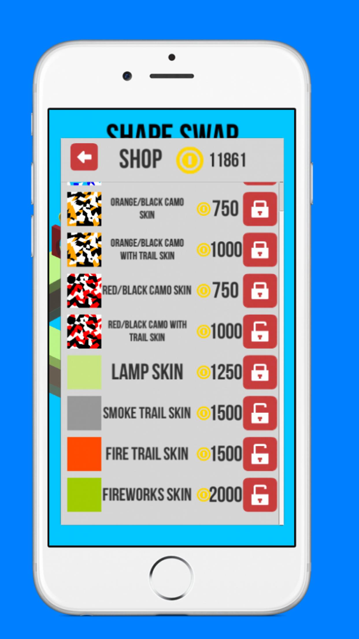 Shape Swap - Endless Running Screenshot
