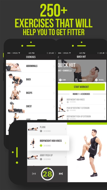 7 Minute Workout VGFIT screenshot-3