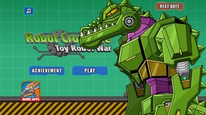 Robot Crocodile Toy Robot War screenshot two