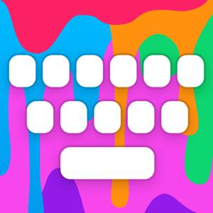 RainbowKey - Color keyboard themes, fonts & GIF app