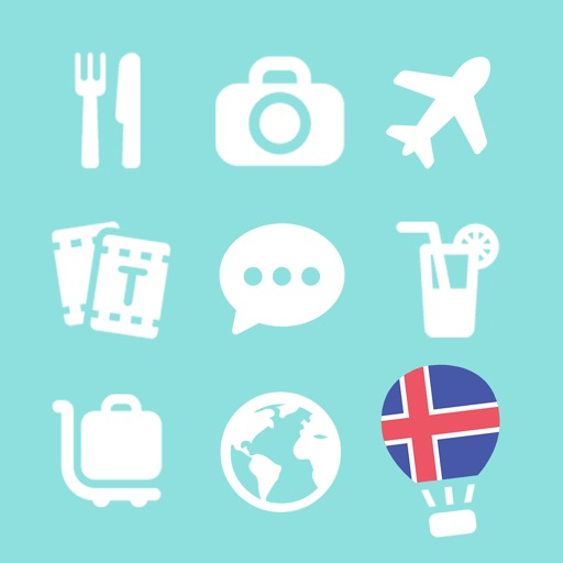 LETS Travel Iceland! Icelandic Phrase Guide Book