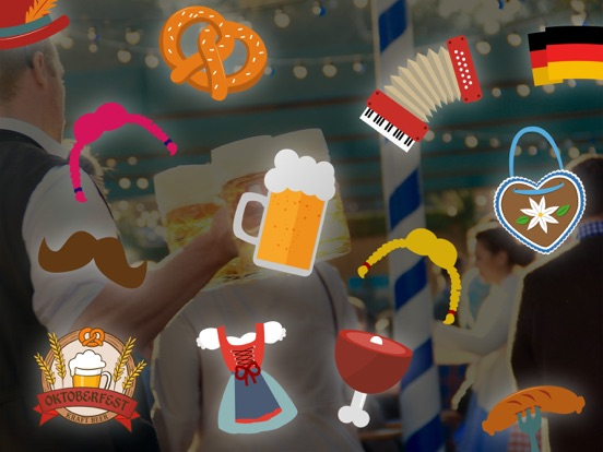 Octoberfest sticker package - Photo booth! screenshot 4