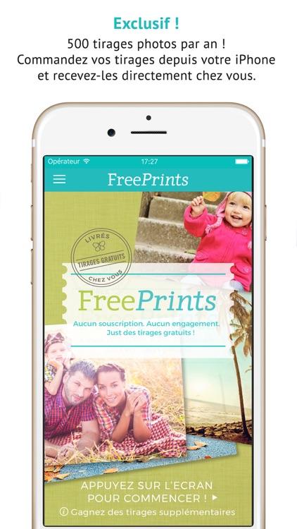 FreePrints - Photos offertes