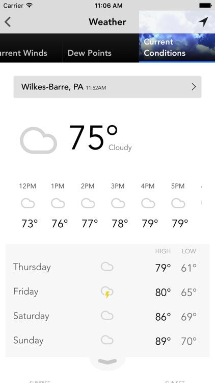 WBRE WYOU Weather PAHomepage