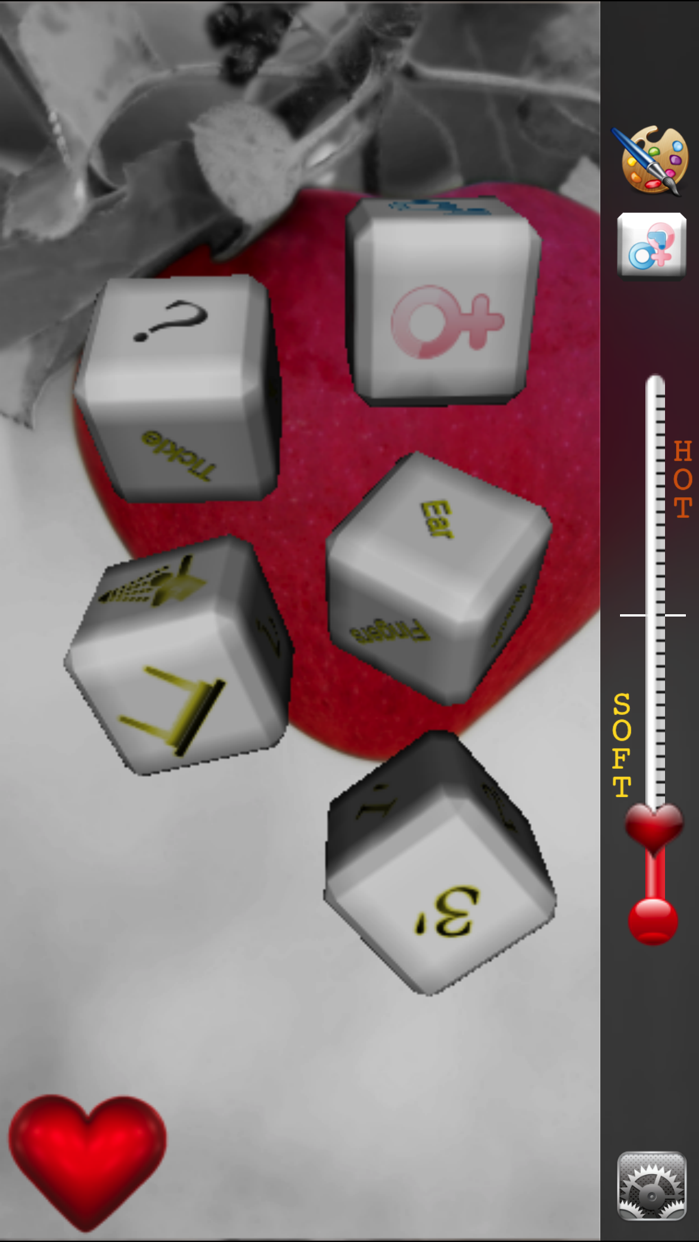 Sex Dice 3D Lite -Love game very HOT- Screenshot