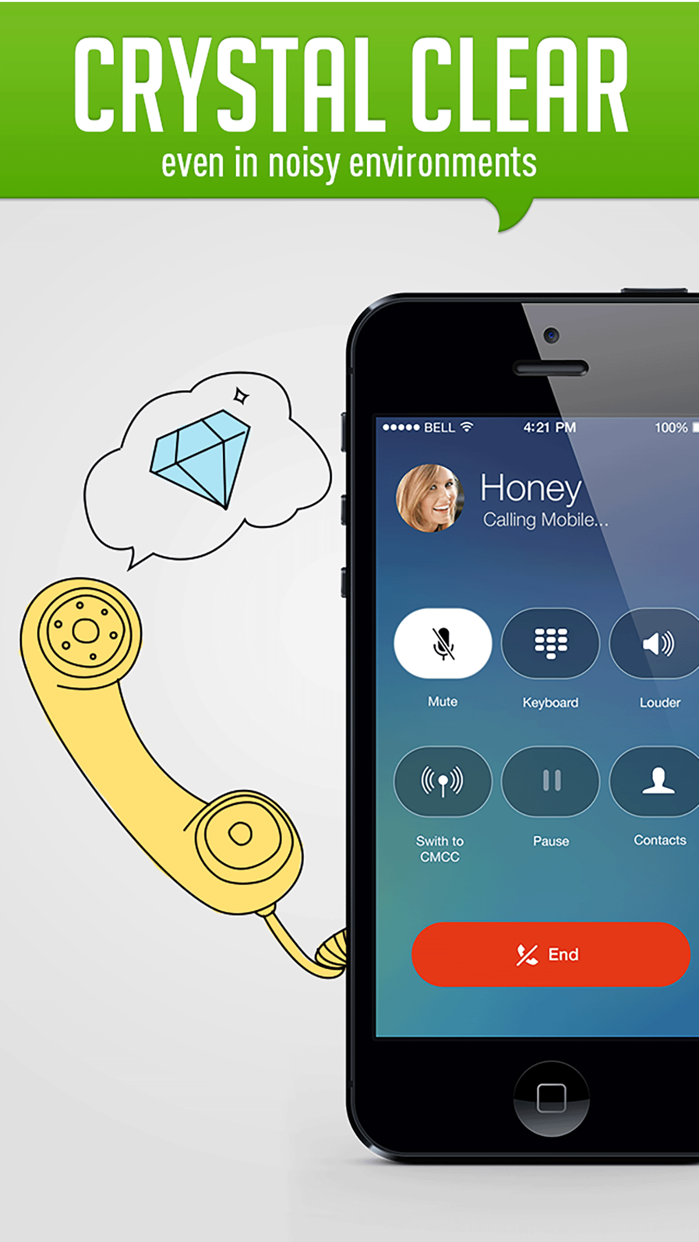 HiTalk - International Calling App, Texting, WiFi Screenshot
