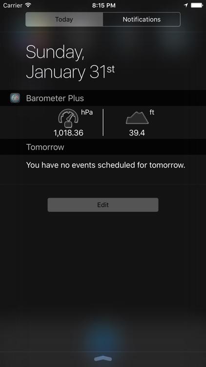 Barometer Plus - Altimeter and Barometer