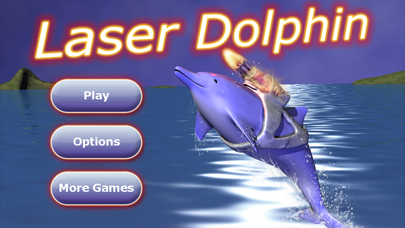 Screenshot from Laser Dolphin