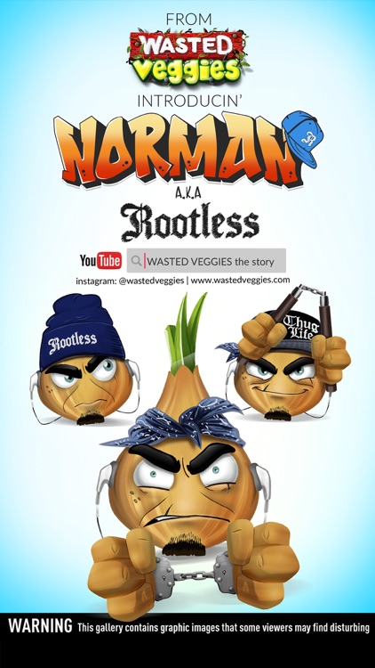 Wasted Veggies: Norman