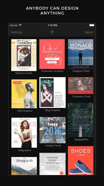 Cameraxis - Graphic Design tool, Typography editor screenshot-0