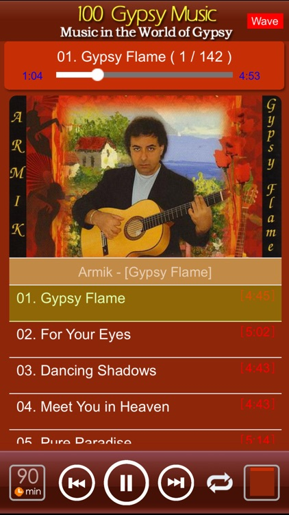 [10 CD]100 classic gypsy music screenshot-2
