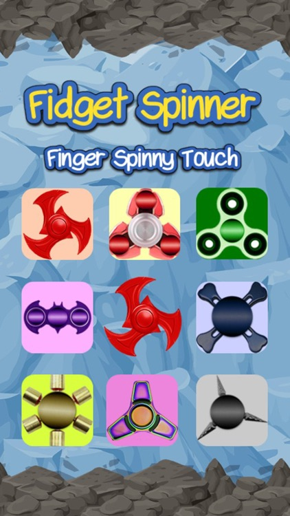 Fidget Spinner Finger Spinny Touch