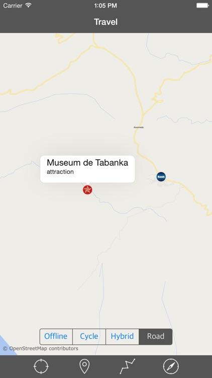 CAPE VERDE (SANTIAGO I) – GPS Travel Map Navigator screenshot-4