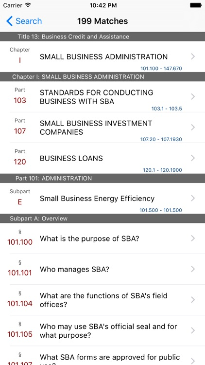 13 CFR - Business Credit and Assistance (LawStack) screenshot-4