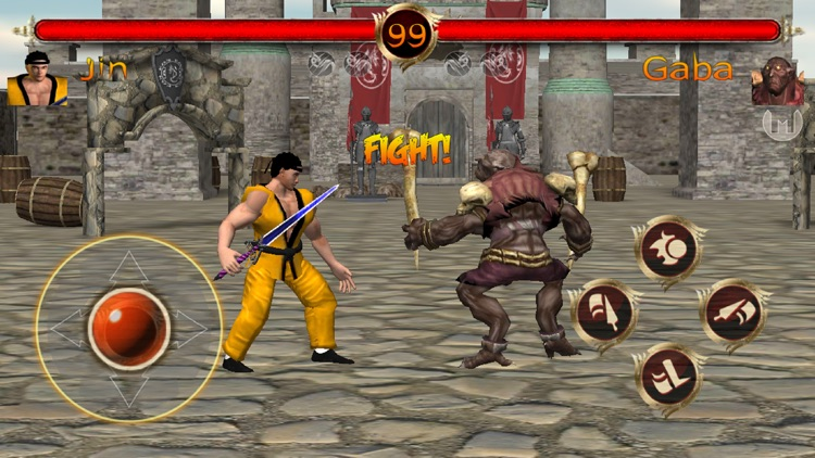 Terra Fighter 2 - Fighting Game