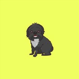 Oscar The Dog Stickers